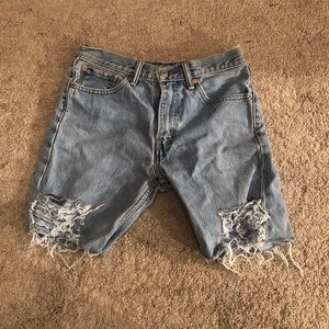 Distressed Levi's vintage from Sorella Boutique